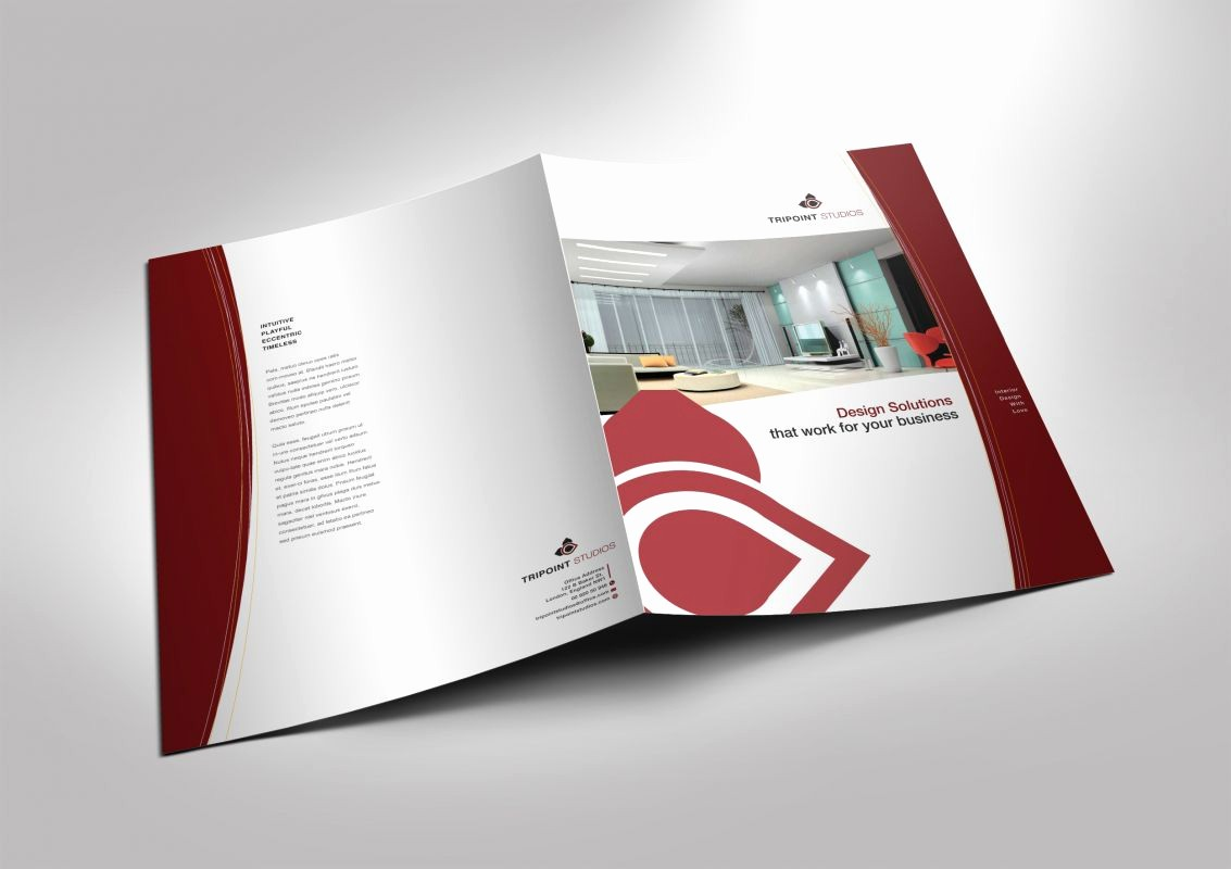 Half-fold Brochure Template Lovely Half Fold Brochure Template for Design Pany Marketing