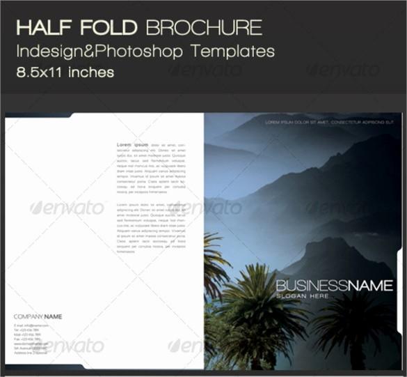 Half-fold Brochure Template New 26 Half Fold Brochures