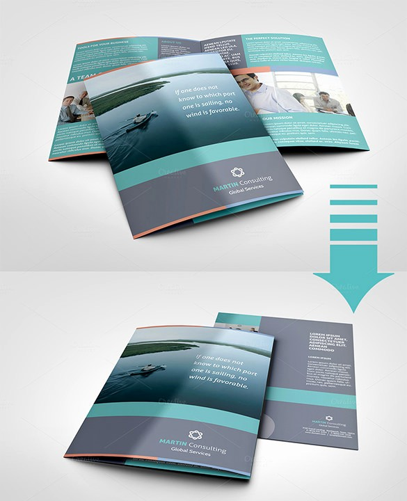 Half-fold Brochure Template Unique 36 Half Fold Brochure Templates