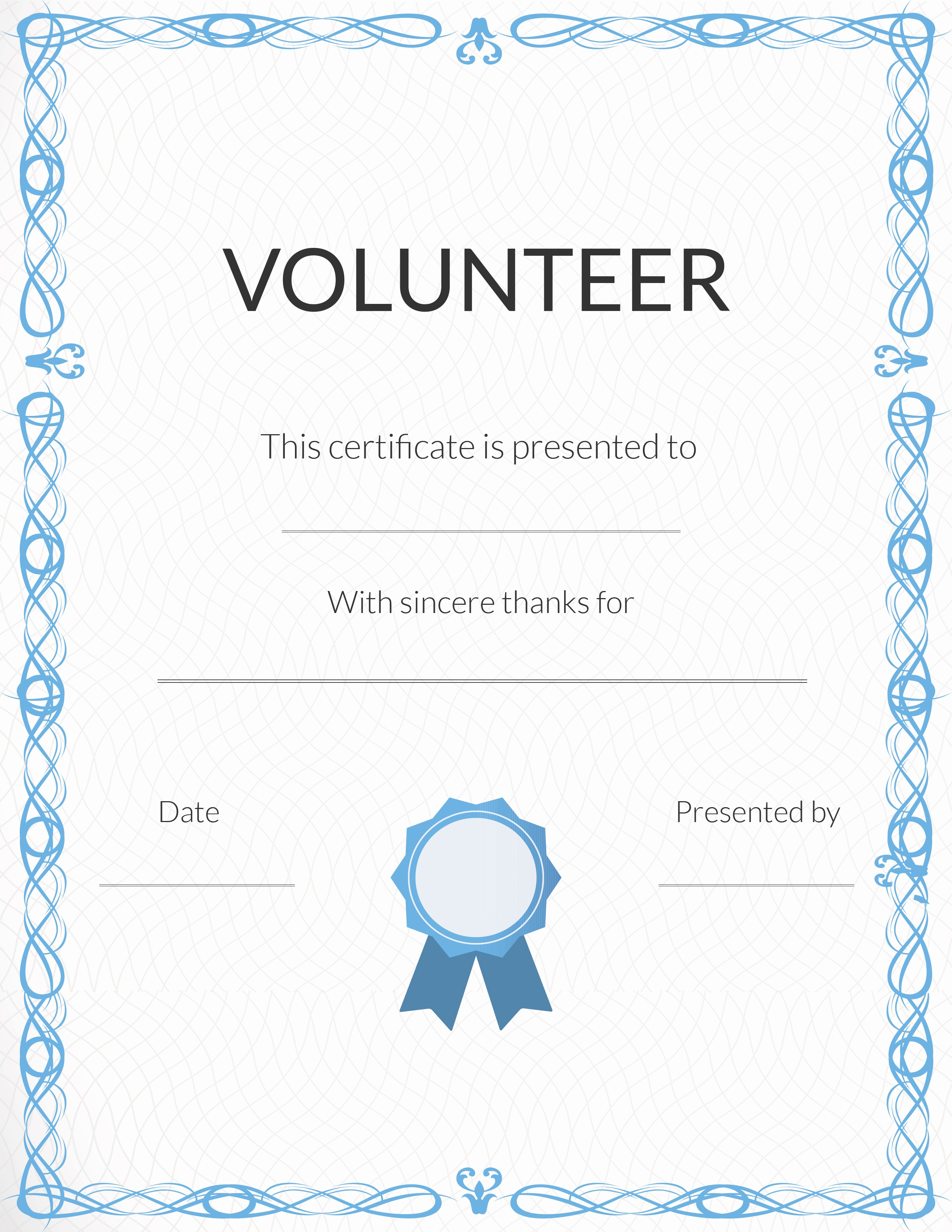 Hall Of Fame Certificate Template Awesome Free Printable Volunteer Appreciation Certificates