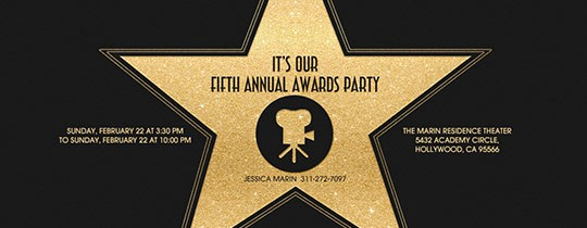 Hall Of Fame Certificate Template Best Of Win Your Awards Party with Awards Night Bingo Evite