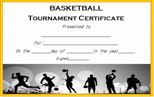 Hall Of Fame Certificate Template Fresh 27 Professional Basketball Certificate Templates Free