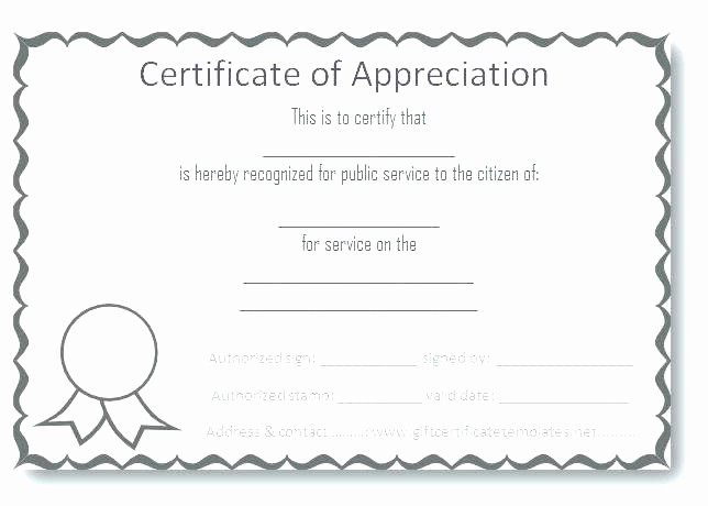 Hall Of Fame Certificate Template Fresh Certificate Appreciation Wording Examples Design