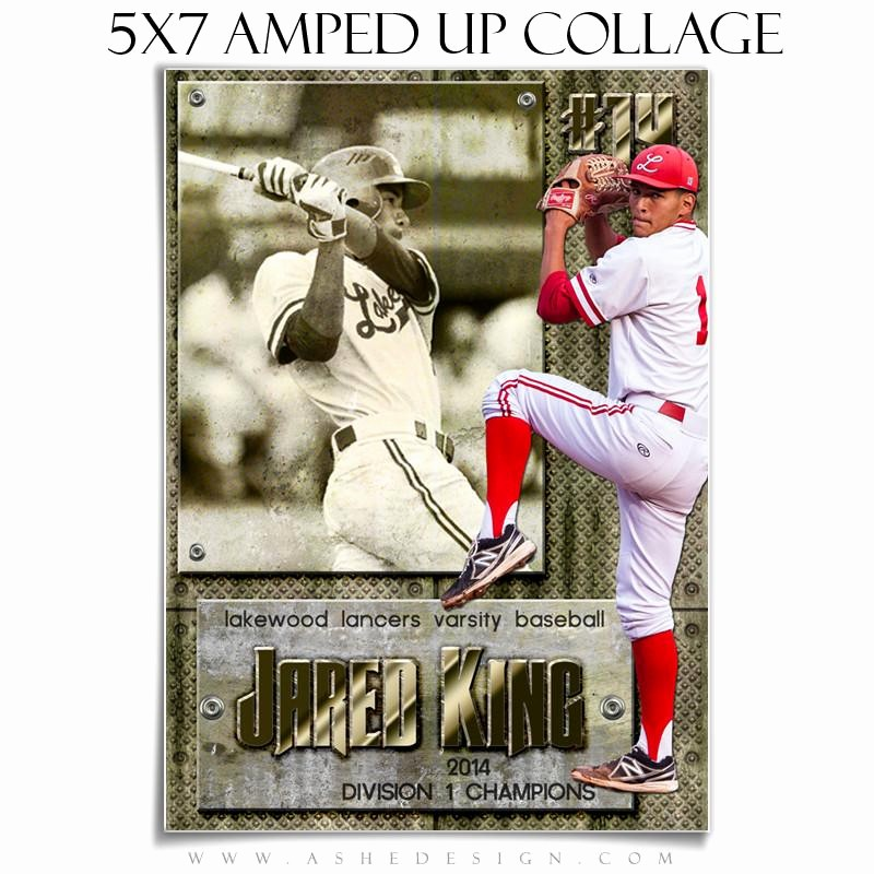 amped collage set 5x7 12x12 10x20 hall of fame