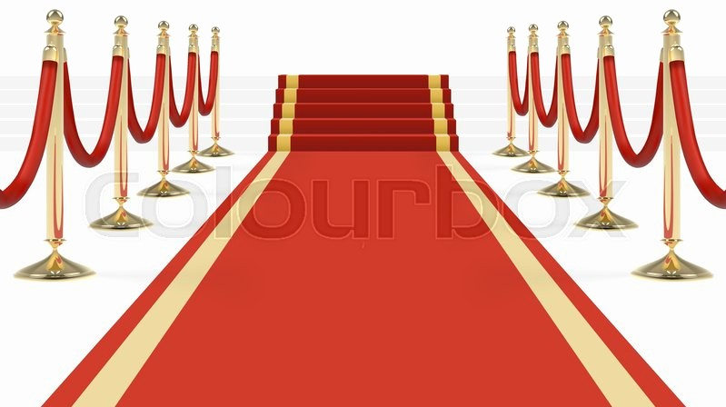 Hall Of Fame Certificate Template Luxury Red Carpet with Stairs Podium Red Ropes Golden