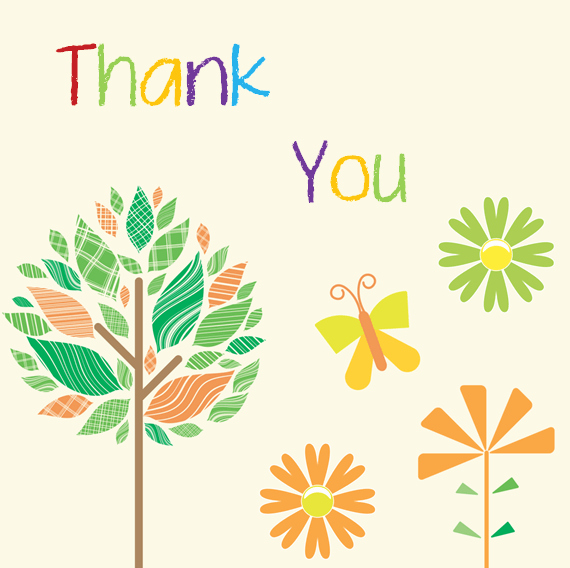 Hallmark Thank You Card Template Awesome Thank You Card Template 6 Beautiful Designs for Word