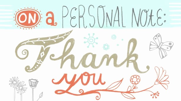Hallmark Thank You Card Template Fresh the Art Of the Thank You Note