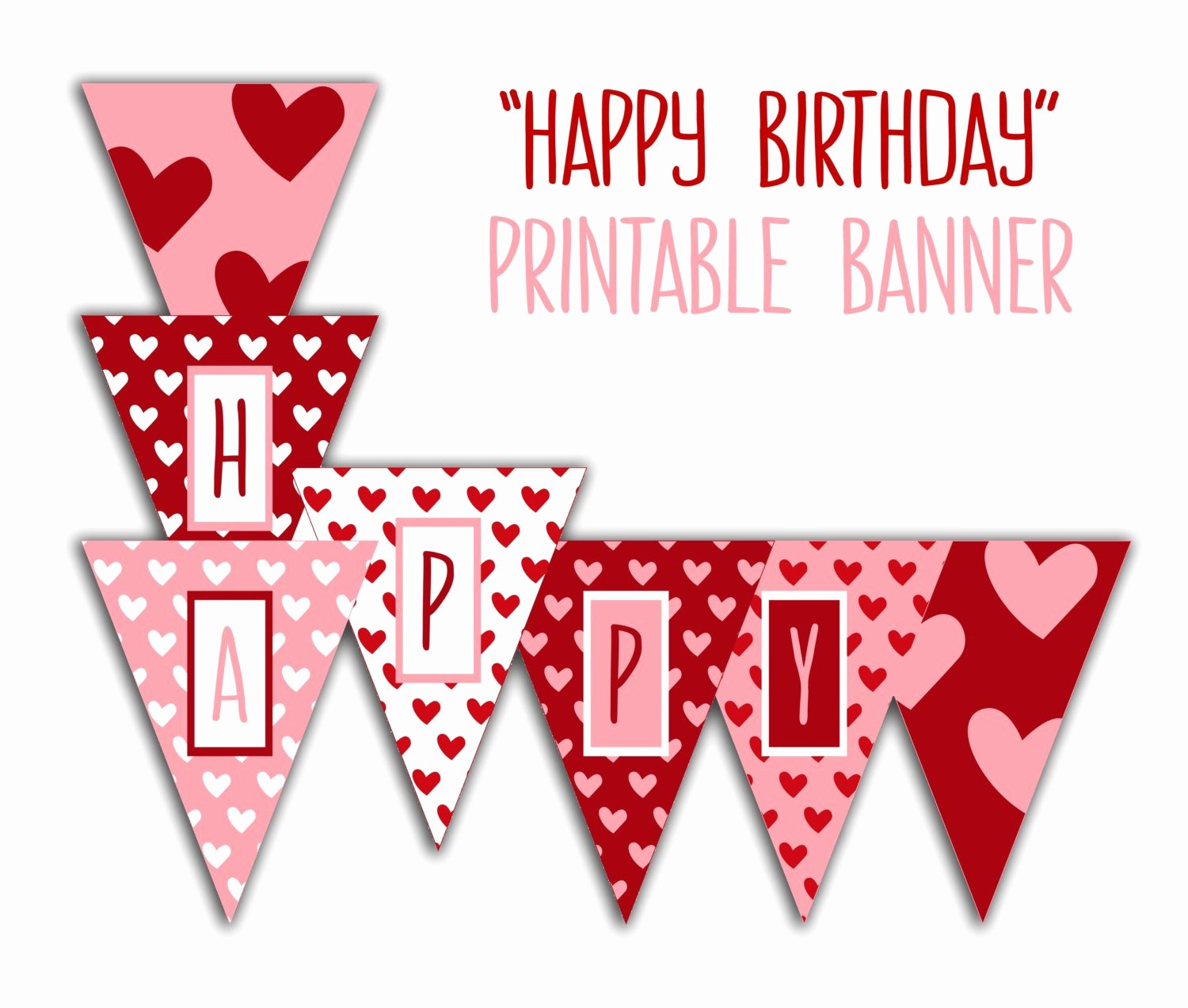 Happy Birthday Banner Print Out Awesome Happy Birthday Banner Birthday Party Printable Sign Red