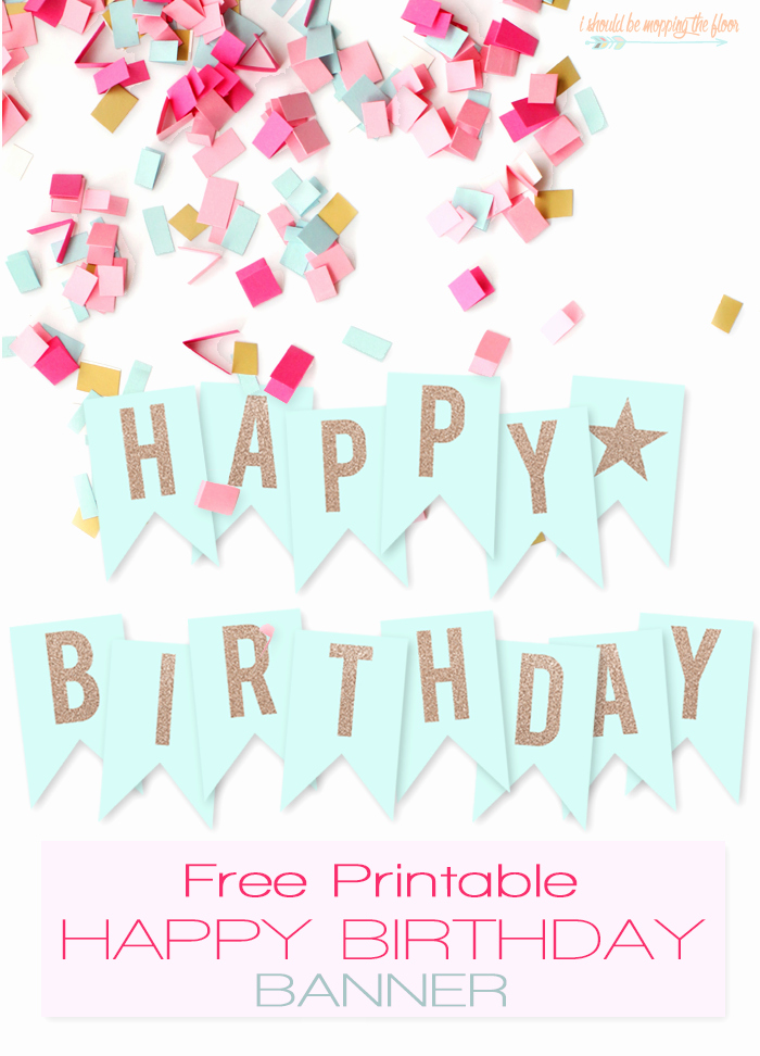 Happy Birthday Banner Print Out Best Of Free Printable Happy Birthday Banner Printables