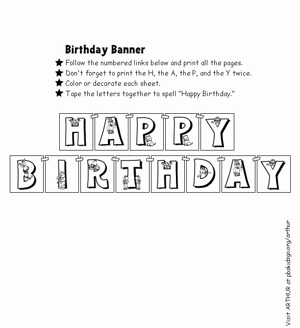 Happy Birthday Banner Print Out Elegant 1000 Images About Free Printable On Pinterest