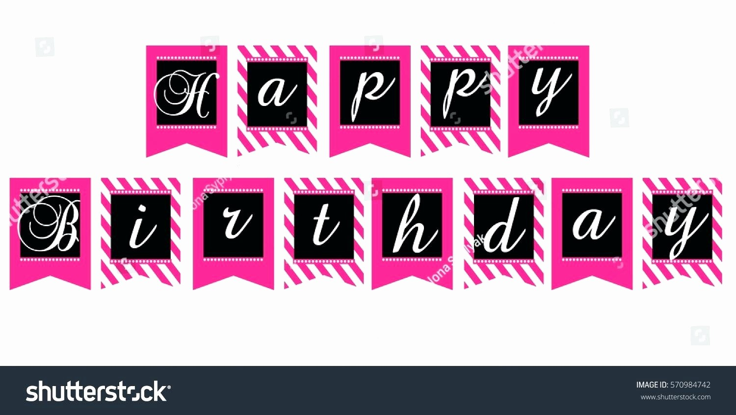 Happy Birthday Banner Print Out Lovely Template Happy Birthday Cut Out Template