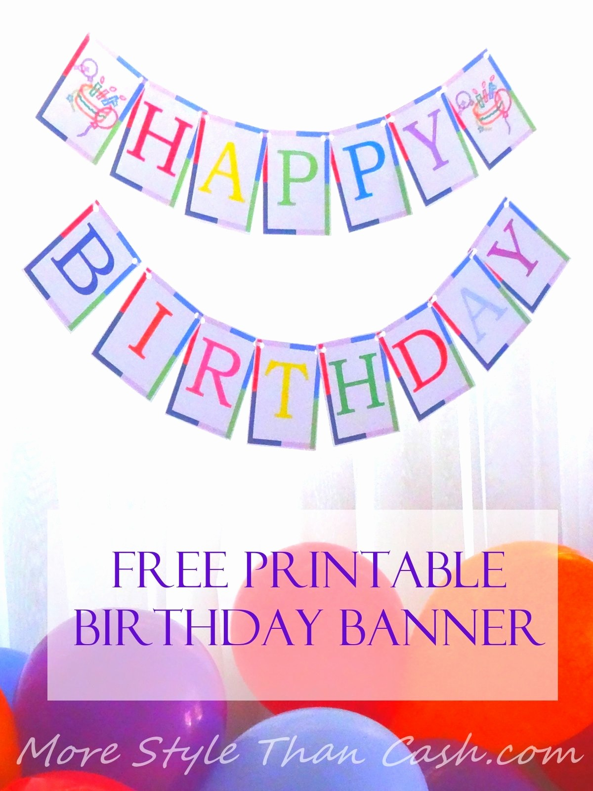 Happy Birthday Banner Print Out Luxury Free Printable Birthday Banner