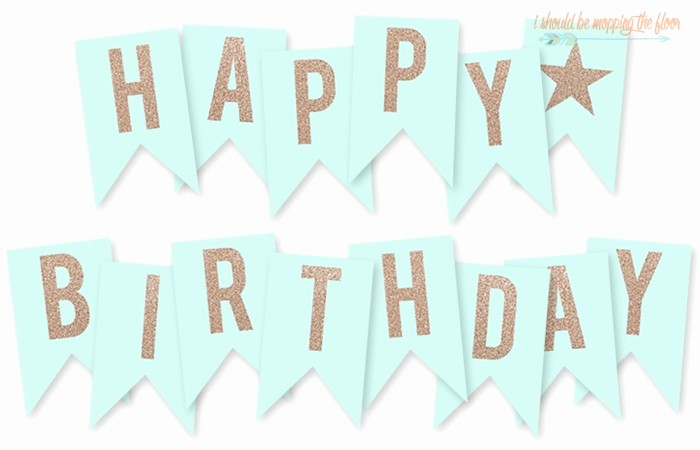 Happy Birthday Banner Print Out Unique Free Printable Birthday Banner Letters