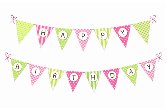 Happy Birthday Banner Template Printable Awesome Birthday Banner Template – 22 Free Psd Ai Vector Eps