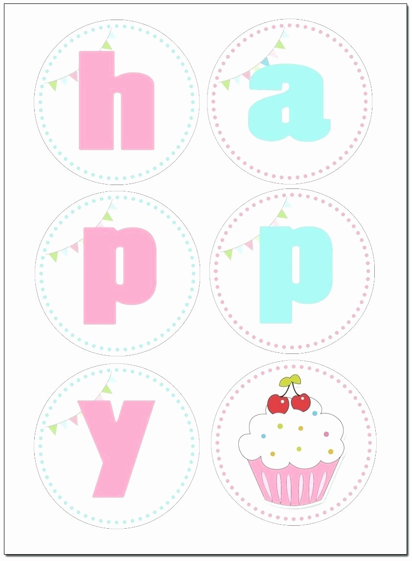 Happy Birthday Banner Template Printable Fresh Free Birthday Banner Template Printable – Best Happy