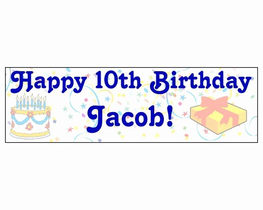 Happy Birthday Banner with Name Best Of Happy Birthday Banner with Age & Name Holiday