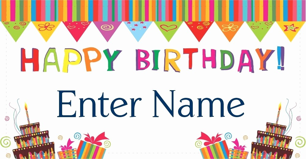 Happy Birthday Banner with Name Inspirational Happy Birthday Banner with Name and Photo 100 Hapy