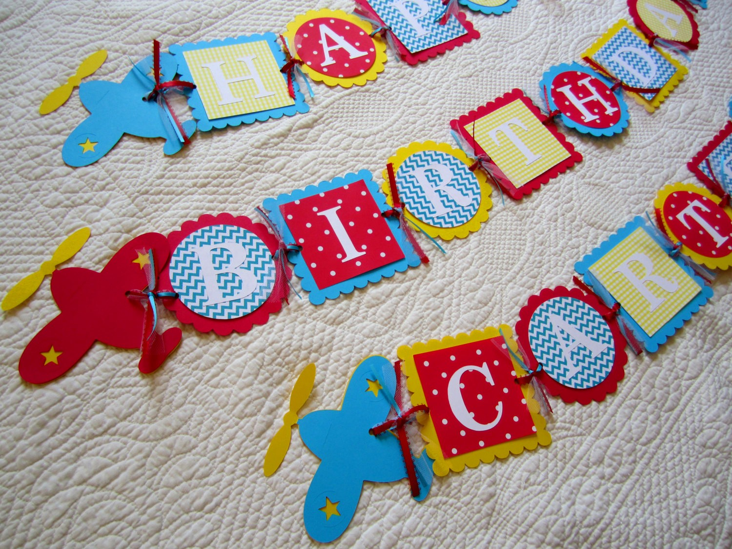 Happy Birthday Banner with Name Lovely Chandeliers & Pendant Lights