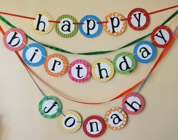 Happy Birthday Banner with Name Luxury Custom Happy Birthday Banner with Name Yo Gabba Gabba