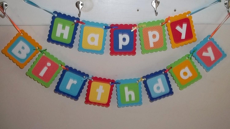 Happy Birthday Banner with Name Luxury Happy Birthday Banner First Birthday Personalized Name