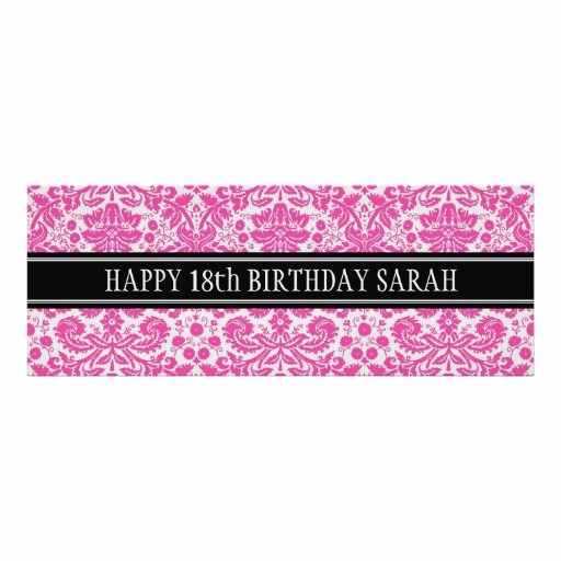 Happy Birthday Banner with Name Unique Happy Birthday Custom Year Name Banner