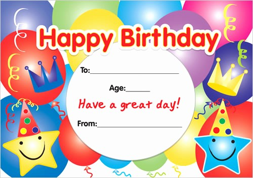 Happy Birthday Certificate Free Printable Awesome Happy Birthday Certificates