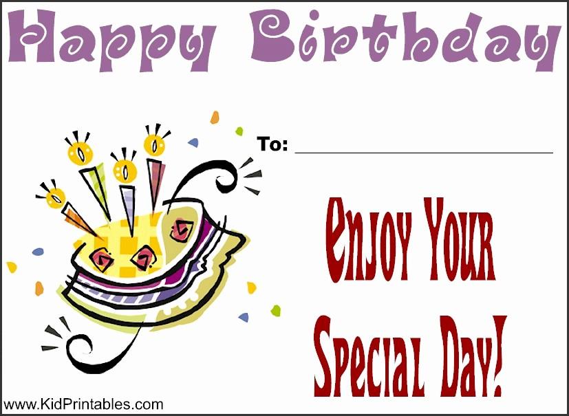 Happy Birthday Certificate Free Printable Beautiful Printable Awards for Kids