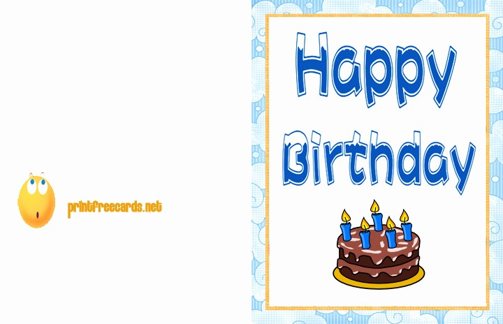 Happy Birthday Certificate Free Printable Best Of Free Printable Birthday Cards