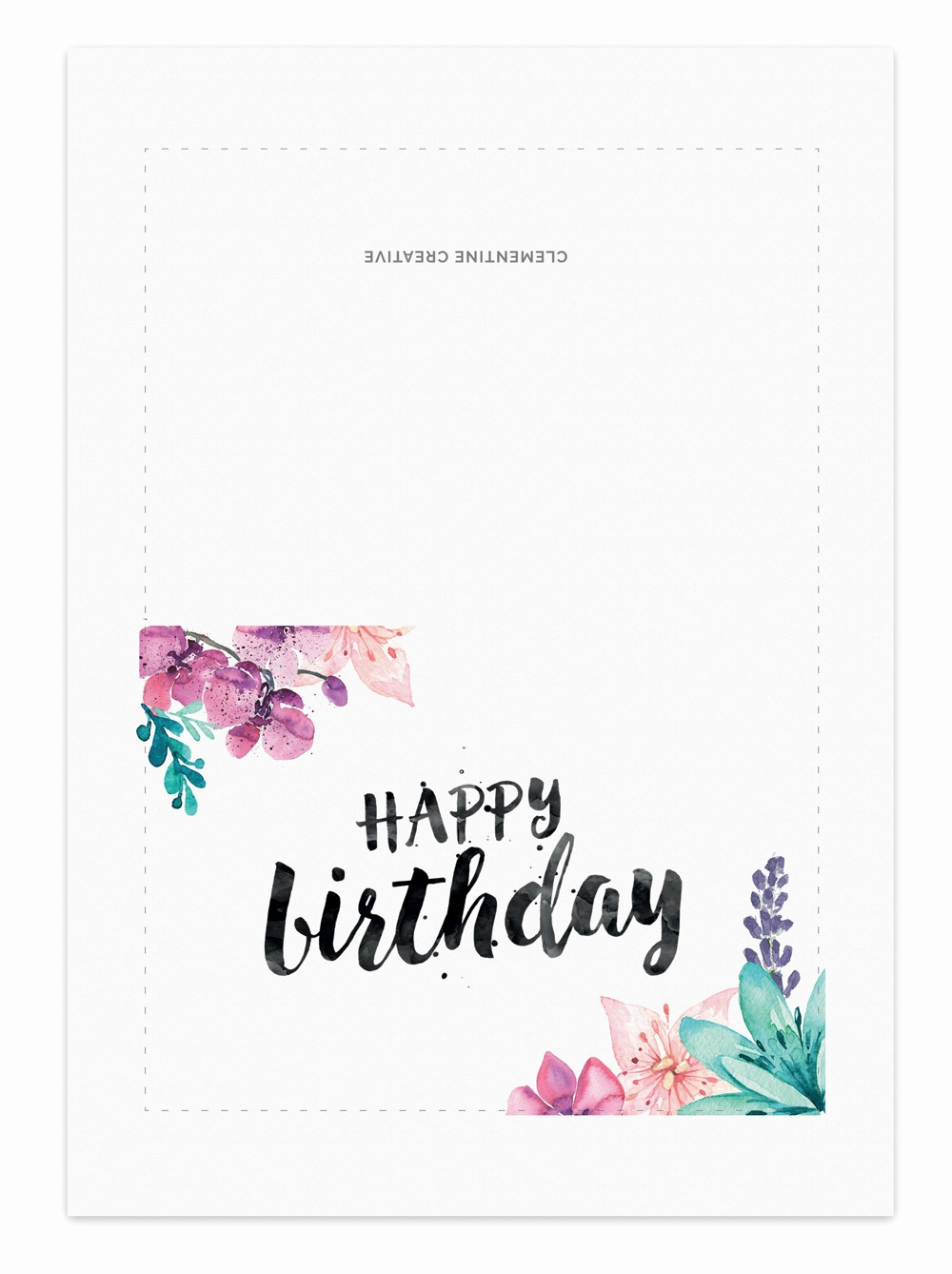 Happy Birthday Certificate Free Printable Best Of Printable Birthday Card for Her