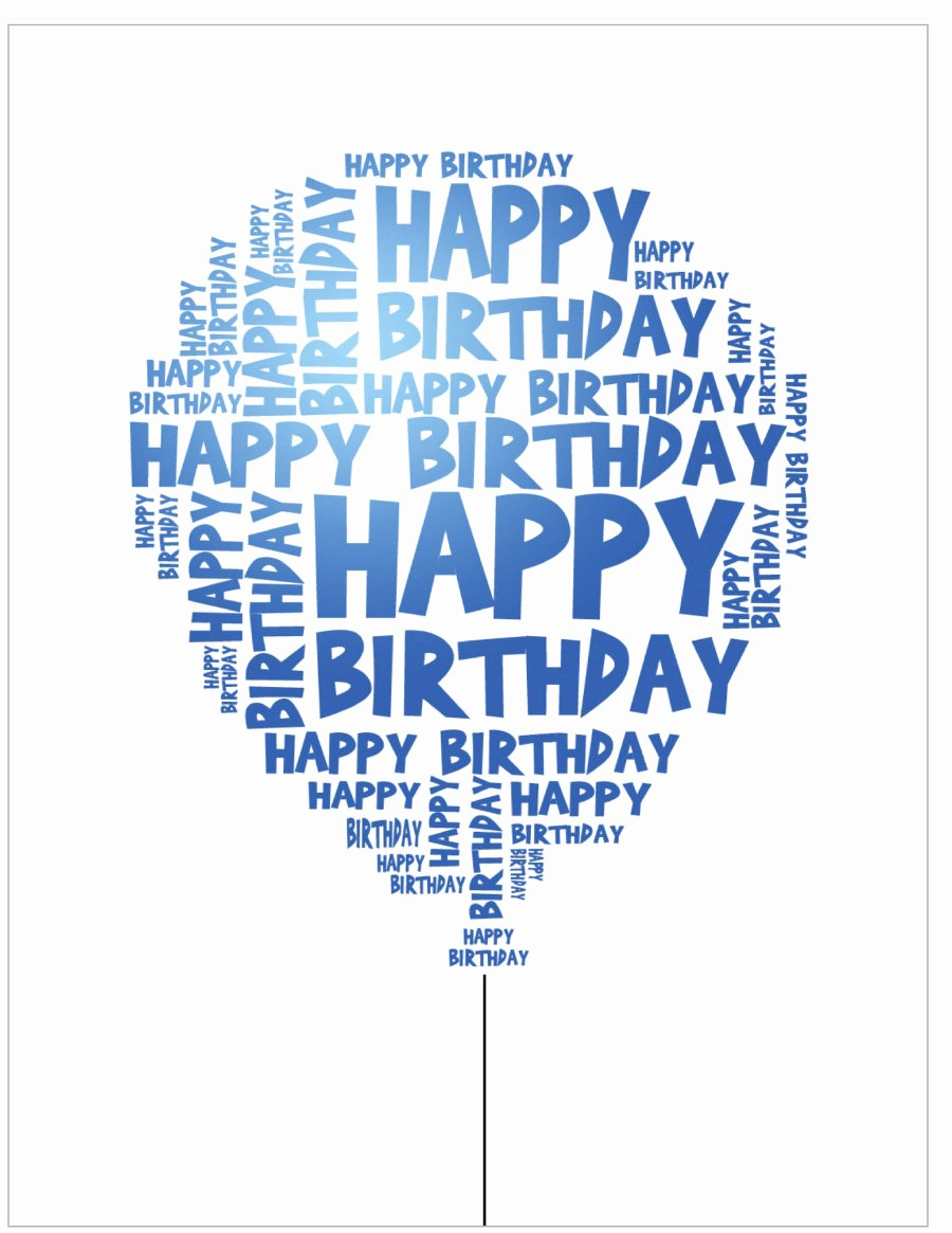 Happy Birthday Certificate Free Printable Elegant 40 Free Birthday Card Templates Template Lab