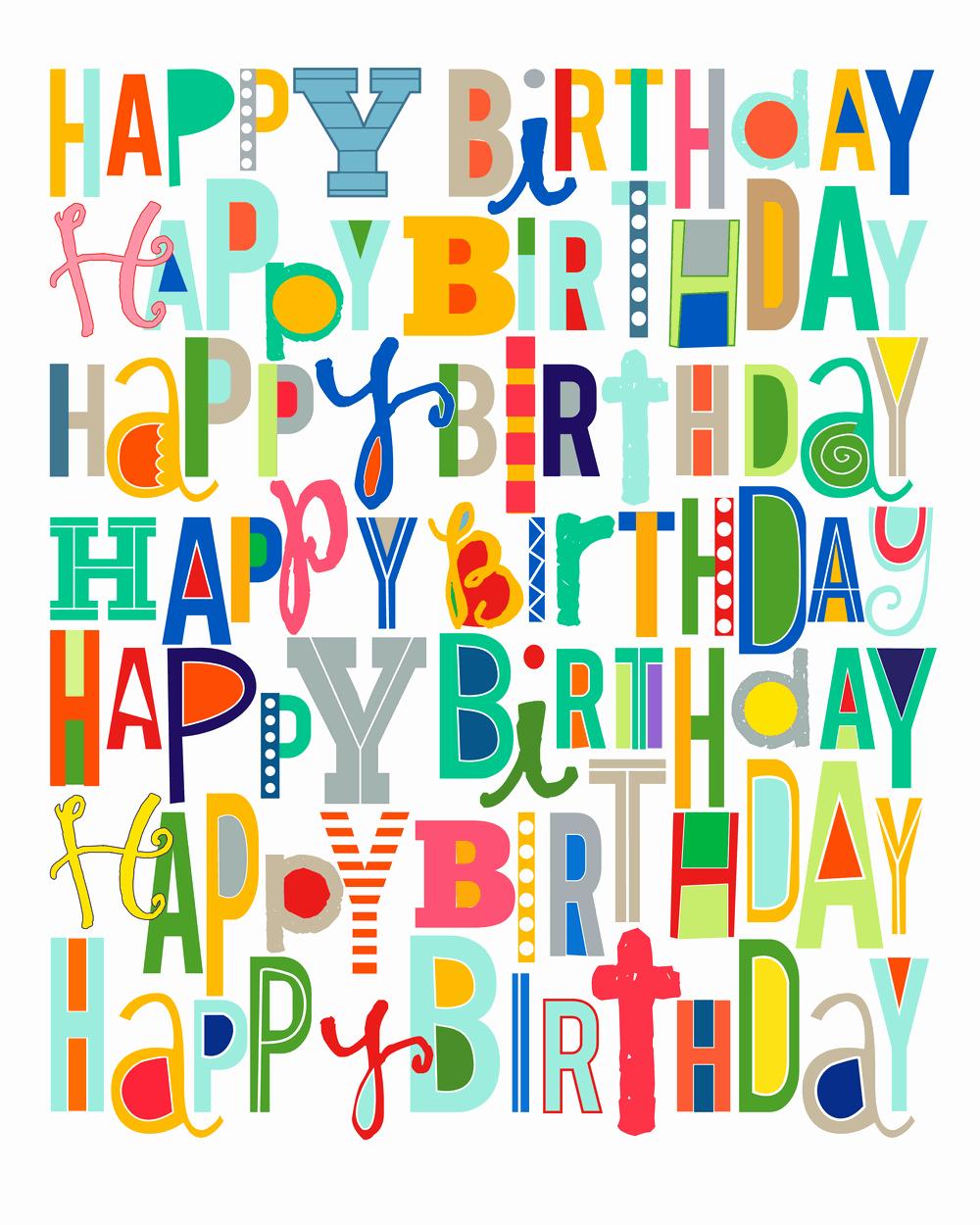 Happy Birthday Certificate Free Printable Fresh Free Happy Birthday Printable I Heart Nap Time