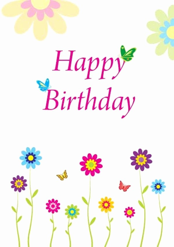 Happy Birthday Certificate Free Printable Inspirational Free Printable Happy Birthday Cards