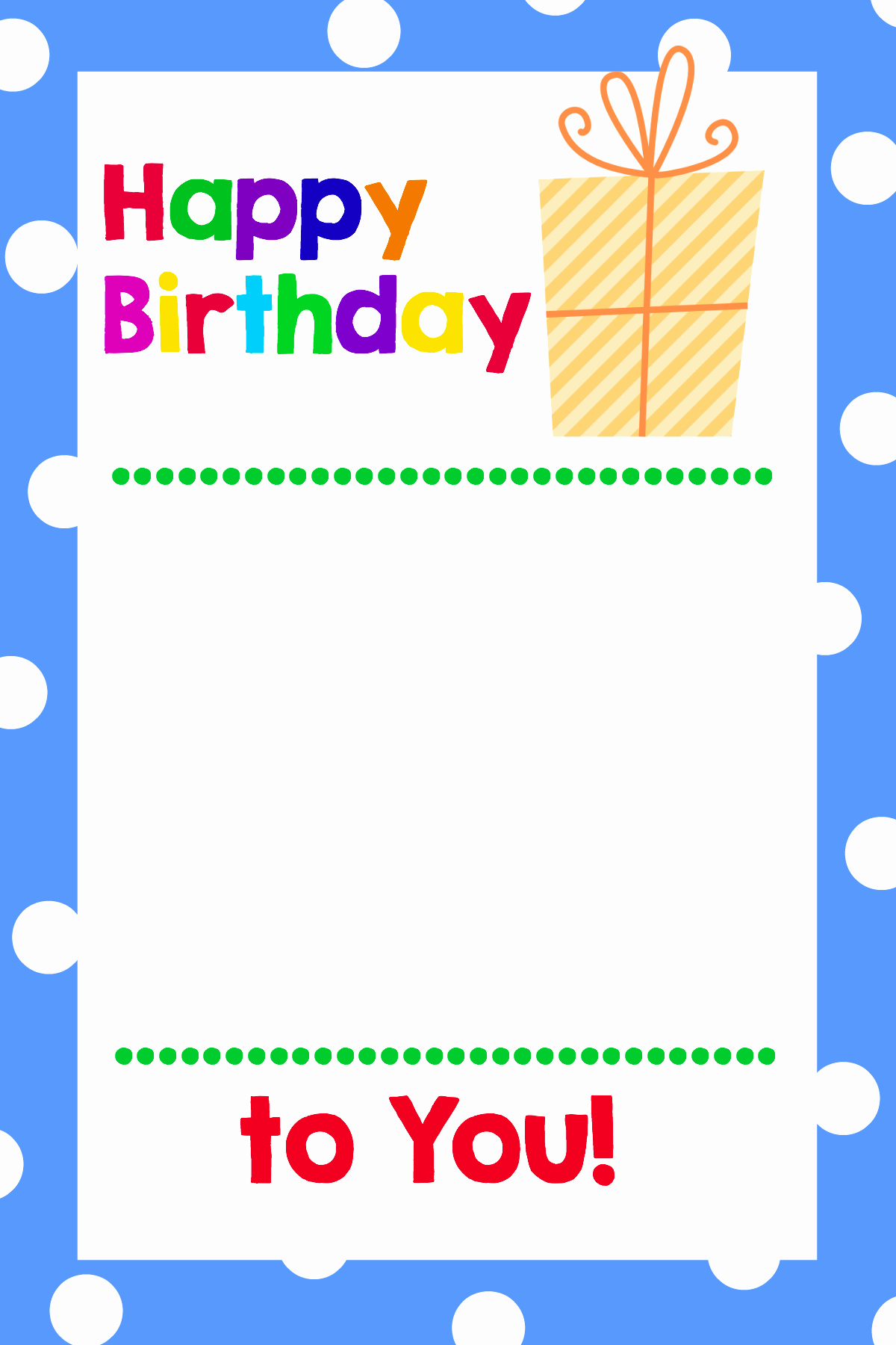 Happy Birthday Certificate Free Printable Lovely Printable Birthday Gift Card Holders Crazy Little Projects