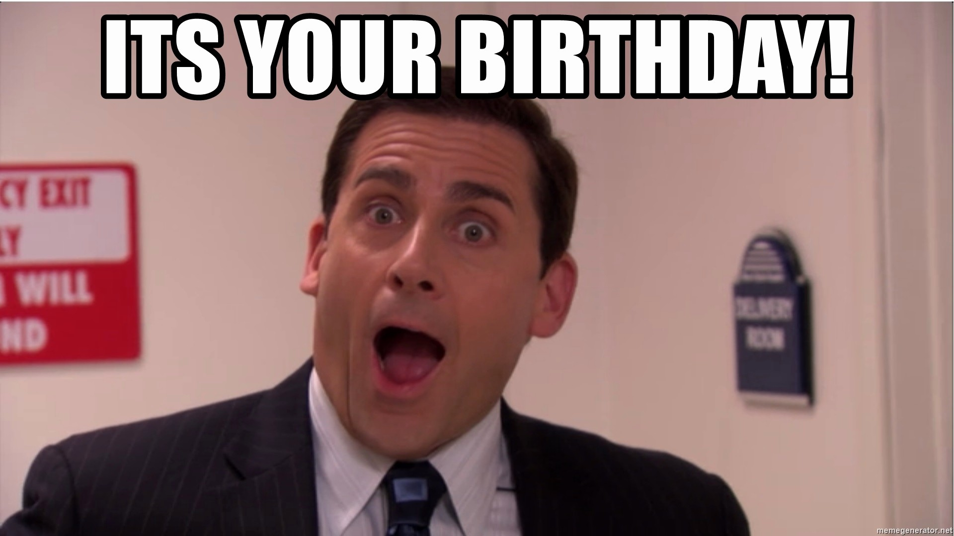Happy Birthday From the Office Best Of Its Your Birthday Michael Scott Dunder Mifflin