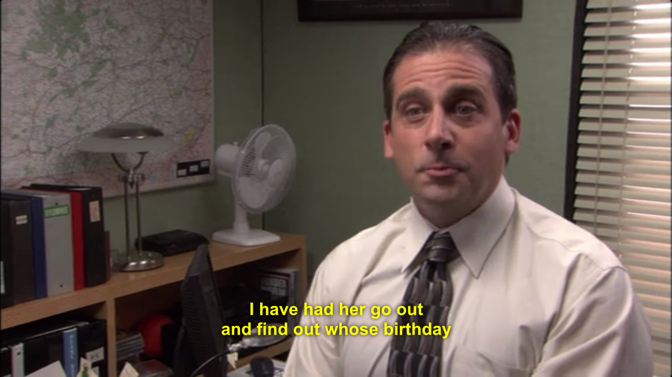 Happy Birthday From the Office Elegant the Office Birthday Meme