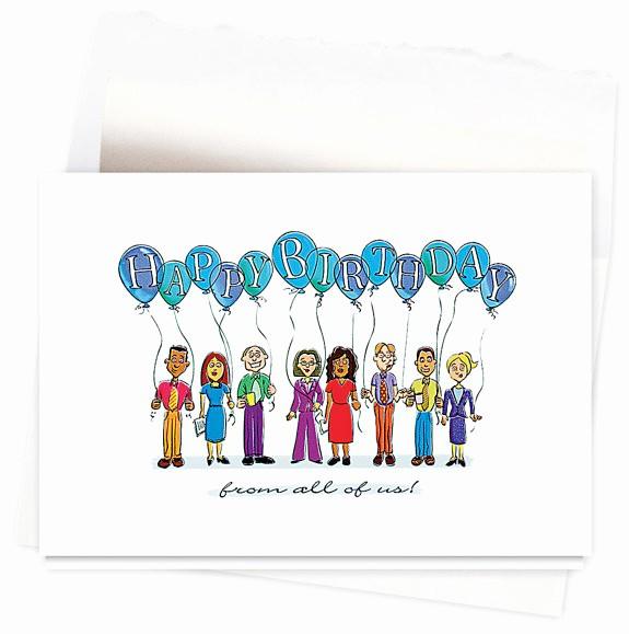 Happy Birthday From the Office Inspirational Fice Birthday Card 4 – Card Design Ideas