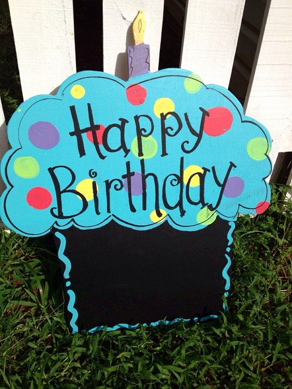 Happy Birthday From the Office New Happy Birthday Cupcake Wooden Door Sign Fice or
