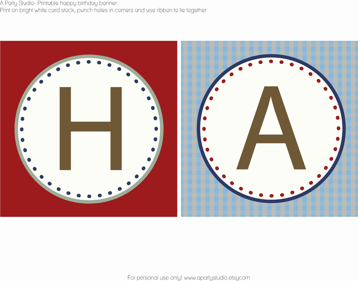 Happy Birthday Letters to Print Awesome Sailboat Party Collection and Free Printables