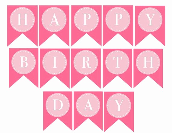Happy Birthday Letters to Print Fresh Instant Download Donuts & Dots Printable Happy Birthday