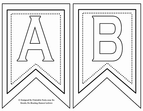 Happy Birthday Letters to Print New 25 Best Ideas About Printable Banner Letters On Pinterest