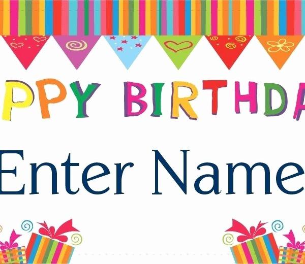 Happy Birthday Signs to Print Elegant Happy Birthday Banner Party City Birthday Tale