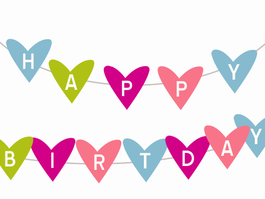 Happy Birthday Signs to Print Lovely Happy Birthday Clip Art Banner Clipart Image 7082