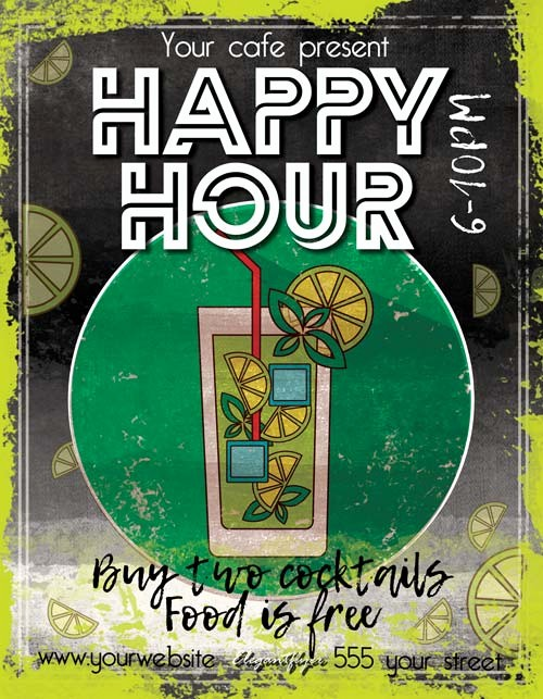 Happy Hour Flyer Template Free Fresh Happy Hour Free Pub Flyer Template Download Free Flyer