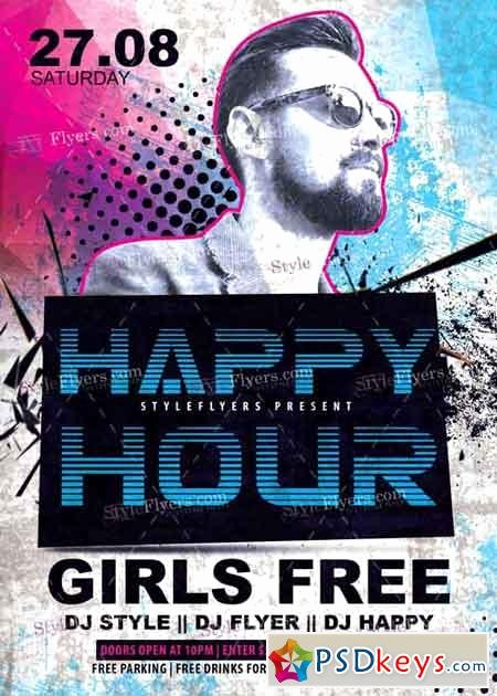Happy Hour Flyer Template Free Fresh Happy Hour V4 Psd Flyer Template Free Download Shop
