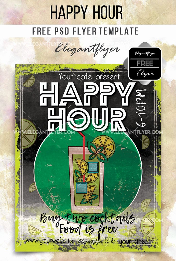 Happy Hour Flyer Template Free Luxury the World S Newest Photos Of Cocktail and Mojito Flickr