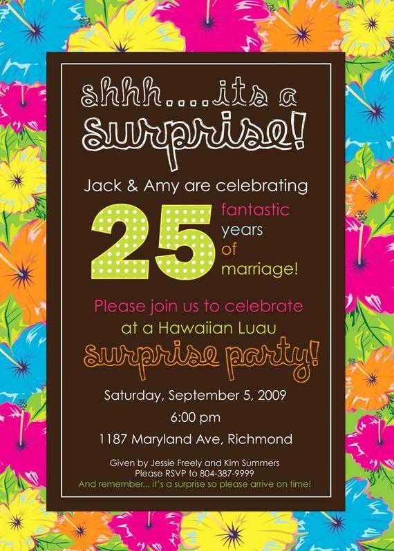 Hawaiian Party Invitation Template Free Fresh Luau Party Invitation