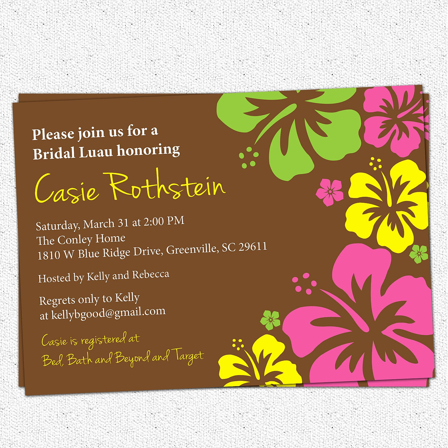 Hawaiian Party Invitation Template Free Fresh Others Custom Luau Invitations for Your Tropical Getaway