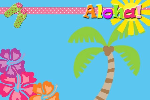 Hawaiian Party Invitation Template Free Lovely Luau Free Printable Invitation