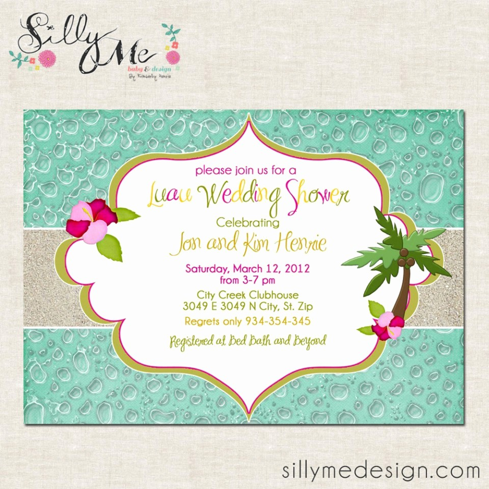 Hawaiian Party Invitation Template Free New Others Custom Luau Invitations for Your Tropical Getaway