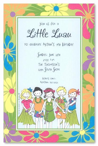 Hawaiian theme Party Invitations Printable Inspirational Best 25 Luau Birthday Invitations Ideas On Pinterest